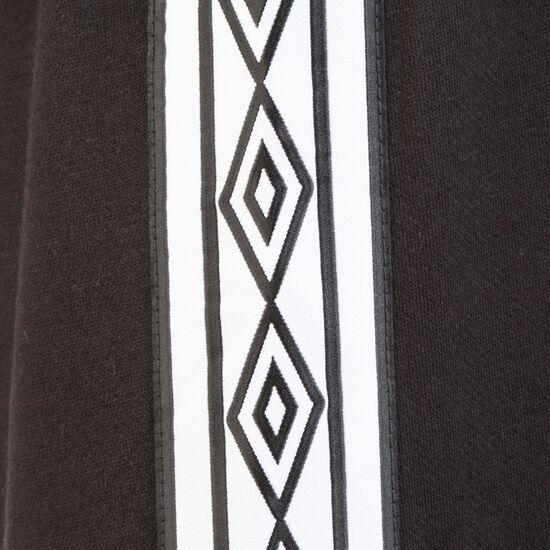 Taped Zip Trough Kapuzenjacke Herren, schwarz / weiß, zoom bei OUTFITTER Online