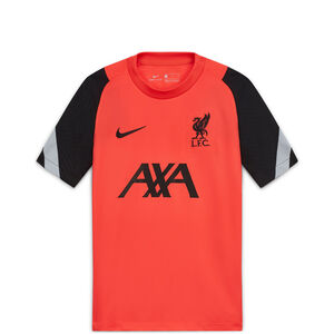 FC Liverpool Breathe Strike CL Trainingsshirt Kinder, rot / schwarz, zoom bei OUTFITTER Online