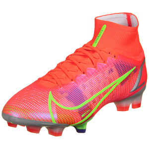 Mercurial Superfly 8 Elite DF FG Fußballschuh Herren, neonrot / pink, zoom bei OUTFITTER Online