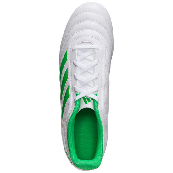 Copa 19.4 FG Fußballschuh Herren, weiß / hellgrün, zoom bei OUTFITTER Online