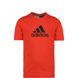 Must Have Badge of Sport T-Shirt Kinder, rot / schwarz, zoom bei OUTFITTER Online