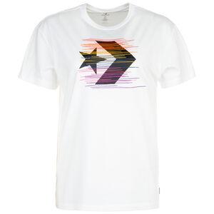 Rainbow Thread Icon Remix T-Shirt Damen, weiß / bunt, zoom bei OUTFITTER Online