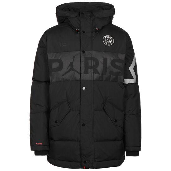Paris St.-Germain Jordan Parka Daunenjacke Herren, schwarz, zoom bei OUTFITTER Online