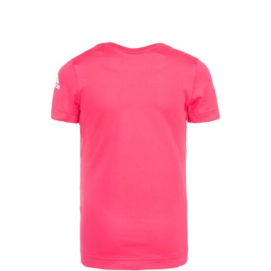 Font Trainingsshirt Kinder, pink / weiß, zoom bei OUTFITTER Online