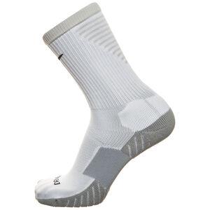 Team Matchfit Cushion Crew Socken, weiß / grau, zoom bei OUTFITTER Online