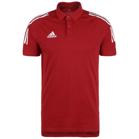 Condivo 20 Poloshirt Herren, rot / weiß, zoom bei OUTFITTER Online