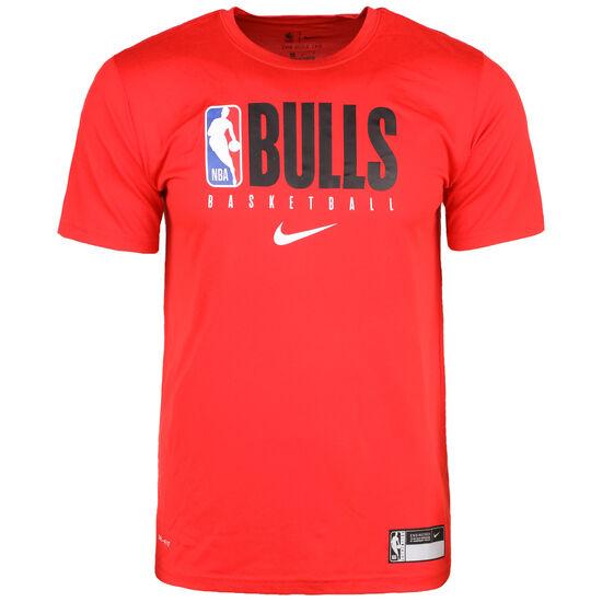 Chcago Bulls Trainingsshirt Herren, rot / schwarz, zoom bei OUTFITTER Online