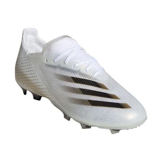 X Ghosted.1 FG Fußballschuh Kinder, weiß / gold, zoom bei OUTFITTER Online