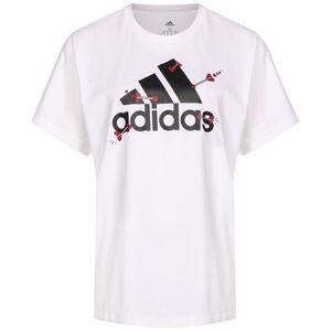 Valentine Graphic T-Shirt Damen, weiß, zoom bei OUTFITTER Online