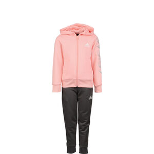 Hooded Jogginganzug Kinder, korall / rosa, zoom bei OUTFITTER Online