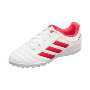 Copa 19.4 TF Fußballschuh Kinder, weiß / rot, zoom bei OUTFITTER Online