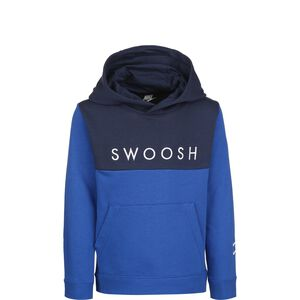 Swoosh Hoodie Kinder, blau / dunkelblau, zoom bei OUTFITTER Online