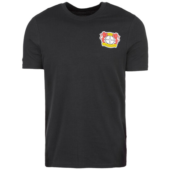 Bayer 04 Leverkusen T-Shirt, schwarz, zoom bei OUTFITTER Online