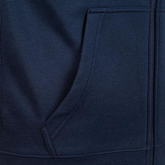 Full Zip FLC Club19 Kapuzensweatjacke Herren, dunkelblau / weiß, zoom bei OUTFITTER Online
