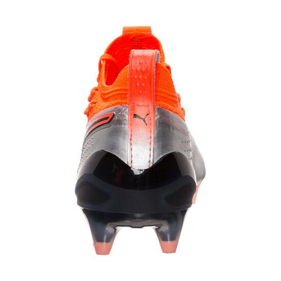 Puma ONE 1 Lth FG/AG Fußballschuh Kinder, Silber, zoom bei OUTFITTER Online