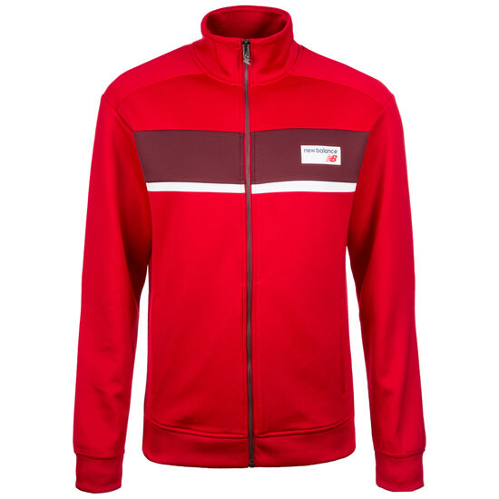Athletics Track Jacke Herren, Rot, zoom bei OUTFITTER Online
