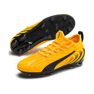 ONE 20.3 FG/AG Fußballschuh Kinder, gelb / schwarz, zoom bei OUTFITTER Online