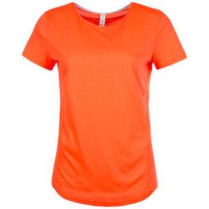 HeatGear Threadborne Swyft Laufshirt Damen, Orange, zoom bei OUTFITTER Online