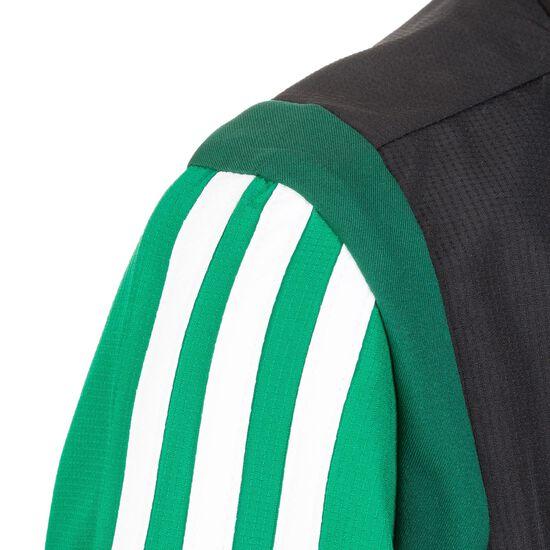 Tiro 19 Präsentationsjacke Kinder, grün / schwarz, zoom bei OUTFITTER Online