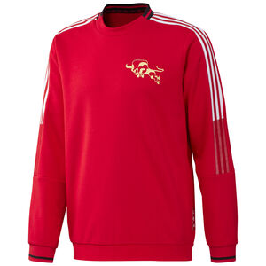 Manchester United Chinese New Year Sweatshirt Herren, rot / weiß, zoom bei OUTFITTER Online