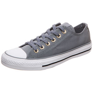 Chuck Taylor All Star OX Sneaker Damen, grau / weiß, zoom bei OUTFITTER Online
