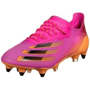 X Ghosted.1 SG Fußballschuh Herren, pink / orange, zoom bei OUTFITTER Online