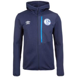 FC Schalke 04 Pro Fleece Kapuzenjacke Herren, Blau, zoom bei OUTFITTER Online