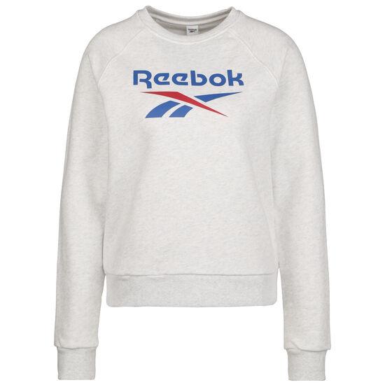 Classic Vector Sweatshirt Damen, weiß / hellgrau, zoom bei OUTFITTER Online