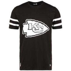 NFL Kansas City Chiefs Jersey Inspired T-Shirt Herren, schwarz / weiß, zoom bei OUTFITTER Online