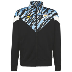 Manchester City Iconic MCS Graphic Trainingsjacke Herren, schwarz / hellblau, zoom bei OUTFITTER Online