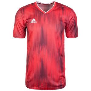 Tiro 19 Fußballtrikot Herren, rot / weiß, zoom bei OUTFITTER Online