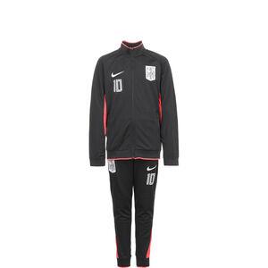 Neymar Jr. Dri-Fit Trainingsanzug Kinder, schwarz / rot, zoom bei OUTFITTER Online