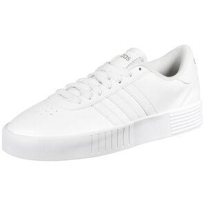 Court Bold Sneaker Damen, weiß / silber, zoom bei OUTFITTER Online