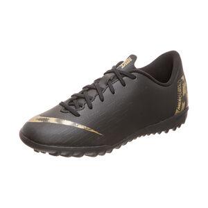 Mercurial VaporX XII Academy TF Fußballschuh Kinder, schwarz / gold, zoom bei OUTFITTER Online