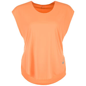 City Sleek Laufshirt Damen, orange, zoom bei OUTFITTER Online