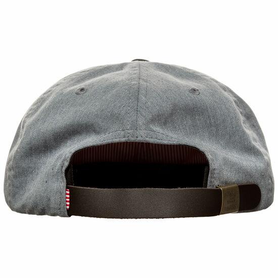 Harwood Strapback Cap, grau / schwarz, zoom bei OUTFITTER Online