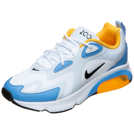 Air Max 200 Sneaker Damen, weiß / blau, zoom bei OUTFITTER Online