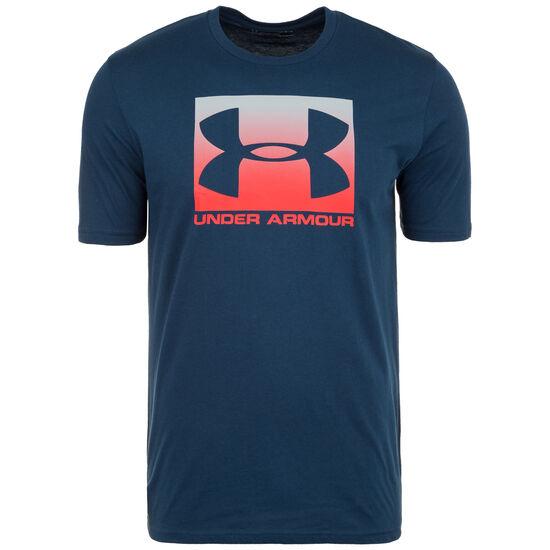HeatGear Boxed Sportstyle Trainingsshirt Herren, dunkelblau, zoom bei OUTFITTER Online