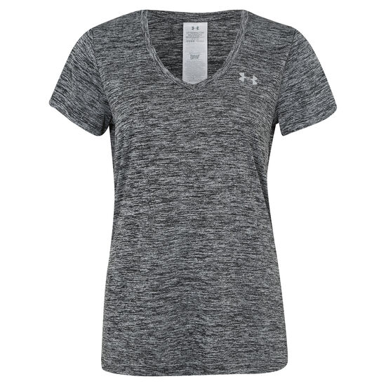 HeatGear Twisted Tech Trainingsshirt Damen, Schwarz, zoom bei OUTFITTER Online