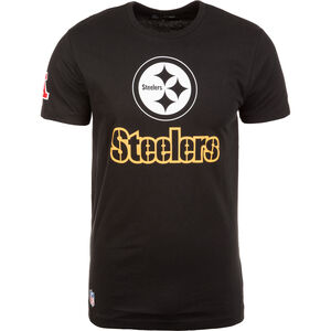 NFL Fan Logo Pittsburgh Steelers T-Shirt Herren, schwarz, zoom bei OUTFITTER Online