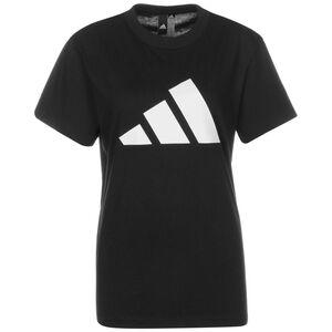 Future Icon Logo T-Shirt Damen, schwarz / weiß, zoom bei OUTFITTER Online