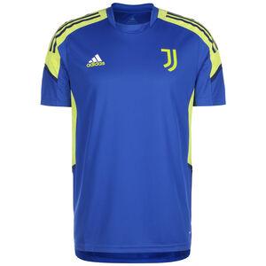 Juventus Turin Trainingsshirt Herren, blau / gelb, zoom bei OUTFITTER Online