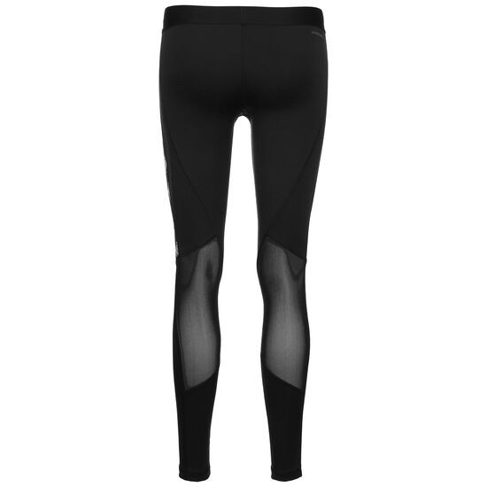 Alphaskin Badge Of Sport Trainingstight Damen, schwarz / weiß, zoom bei OUTFITTER Online