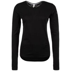 HeatGear Threadborne Swyft Laufshirt Damen, schwarz, zoom bei OUTFITTER Online