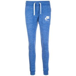 Gym Vintage Jogginghose Damen, blau / weiß, zoom bei OUTFITTER Online