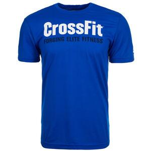 CrossFit Forging Elite Fitness Trainingsshirt Herren, blau, zoom bei OUTFITTER Online