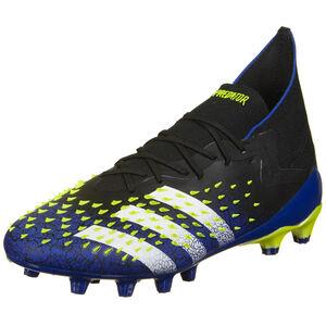 Predator Freak .1 AG Fußballschuh Herren, schwarz / blau, zoom bei OUTFITTER Online