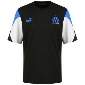 Olympique Marseille FtblCulture T-Shirt Herren, schwarz / blau, zoom bei OUTFITTER Online