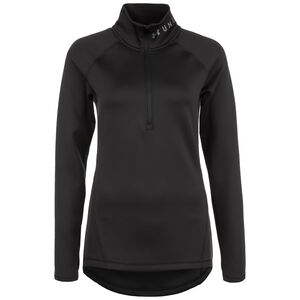ColdGear Armour 1/2 Zip Trainingssweat Damen, schwarz, zoom bei OUTFITTER Online