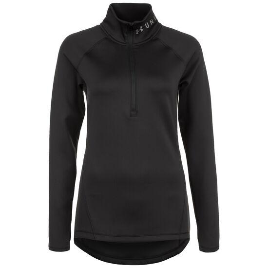 ColdGear Armour 1/2 Zip Trainingssweat Damen, schwarz, zoom bei OUTFITTER Online